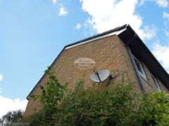 RAL custom coloured UPVC fascia, soffit and guttering installation