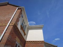 White UPVC fascias soffits and guttering