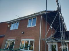Gutter, fascia and soffit installation in Wittering Cambridgeshire