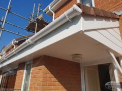 UPVC gutter, fascia and shiplap cladding Wittering Cambridgeshire