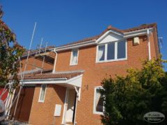 UPVC white guttering, white soffit and fascia Wittering Cambridgeshire