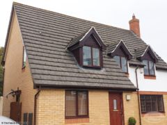 Fascias soffits and guttering replacement on a detached house