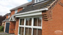 UPVC fascias and guttering