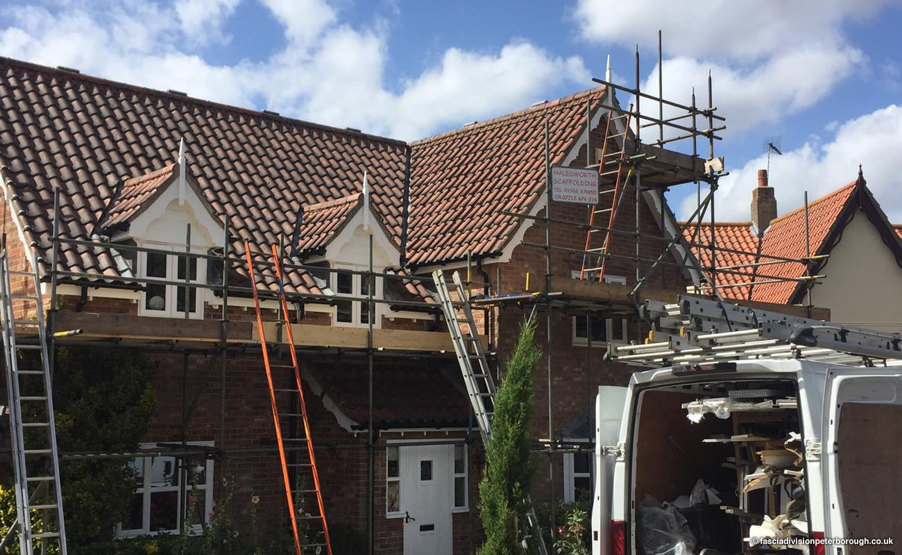 concave decorative fascia boards installation Halesworth